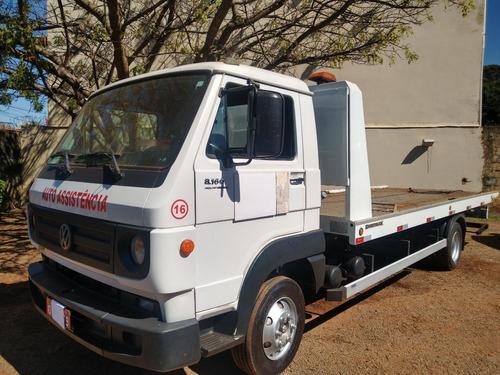 Caminhão Vw 8160/14/15 Branco Plataforma Guincho