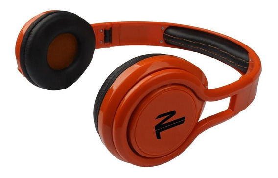 Fone De Ouvido Headphone Dobrável Energy Laranja Newlink