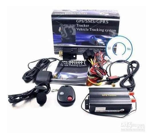 Rastreador Gps Bloqueador Veicular Tk-103b Frete Gratis