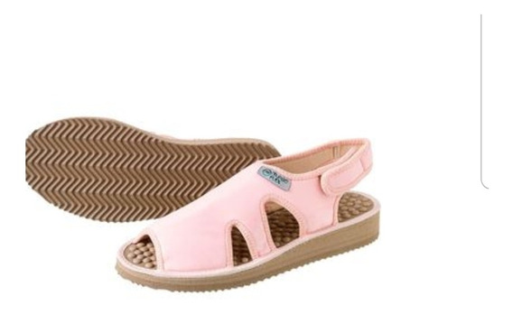 Sandália Para Diabéticos-caimbras Rosa