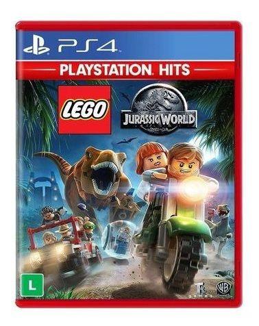 Lego Jurassic World Ps4 Mídia Física Lacrado Pt/br