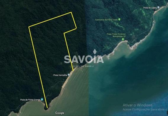Terreno Com Aprox. 4.000.000 De M² Na Praia Vermelha, Bombinhas, Sc - 2599