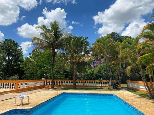 Chácara Com 3 Dormitórios À Venda, 2500 M² Por R$ 850.000,00 - Chácara Residencial Paraíso Marriot - Itu/sp - Ch0090