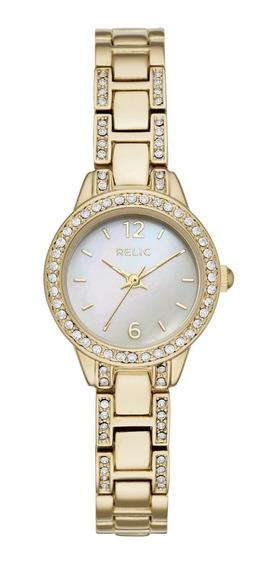 Reloj Dama Relic Tenley Zr34506 Color Dorado