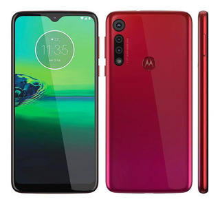 Smartphone Motorola Moto G8 Play Vermelho Magenta 32gb