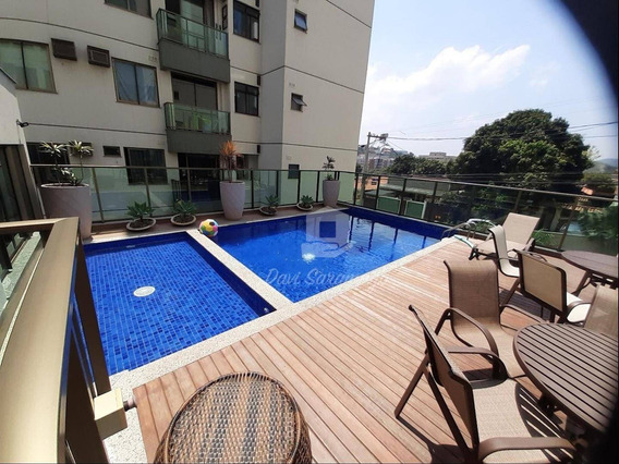 Apartamento Com 2 Dormitórios À Venda, 58 M² Por R$ 294.500,00 - Badu - Niterói/rj - Ap0209