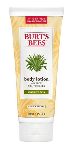 Loción Corporal Burts Bees Aloe Y Suero 170gr