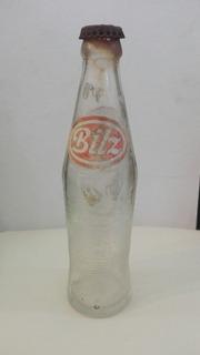 Botella Bilz Gaseosa Antigua Con Tapa 260cc