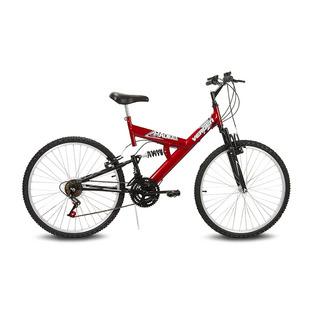 Bicicleta Aro 26 Radikale Preto E Vermelho Verden Bikes