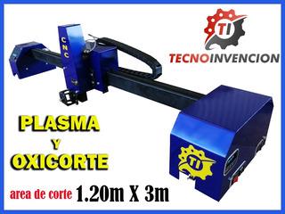 ´pantografo Cnc Oxicorte, Plasma Y Rautercorte Tecnologia