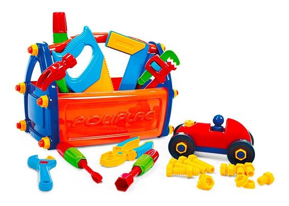 5931 Caixa De Ferramentas Infantil - Poliplac