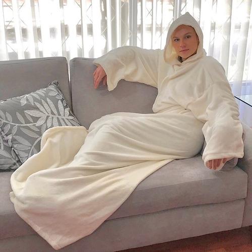 Cobijas Con Mangas Mantas Con Mangas Pijamas Monk