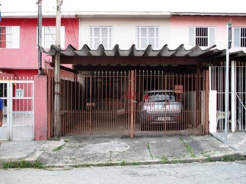 Sobrado Com 3 Dormitórios À Venda, 94 M² Por R$ 424.000,00 - Vila Cruz Das Almas - São Paulo/sp - So0009