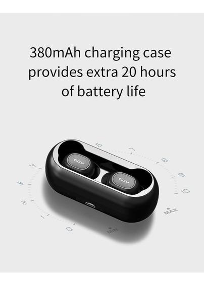 Fone De Ouvido Tws Qcy Qs1 Bluetooth 5.0 Lançamento 2019 R