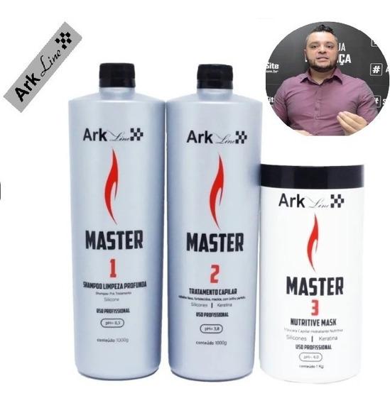 Original Kit Progressiva Master Ark Line 1000ml Cada Um