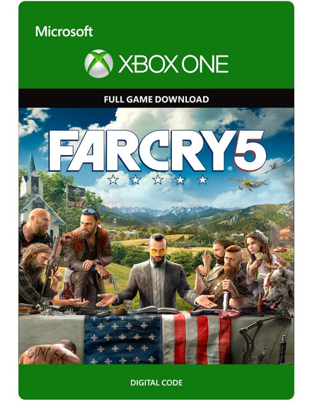 Far Cry 5 (25 Dígitos) Xbox One