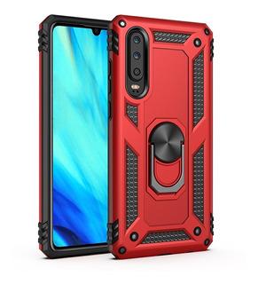 Funda Uso Rudo Armor Huawei P30 Lite P20 Lite P Sm + Mica 9d