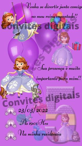 Imagem 1 de 6 de Convites Digitais Personalizados