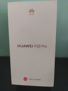 Caixa Huawei P20 Pro