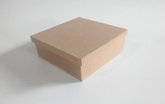 Kit Com 30 Caixas De 15x15x6 Mdf- Lembrancinhas De Casamento