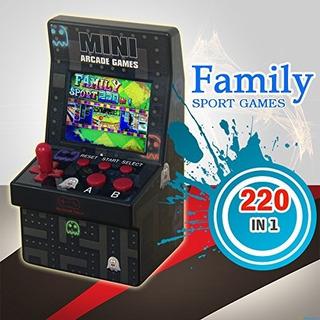 Mini Máquina De Arcade Retro Con 220 Games Clásicos
