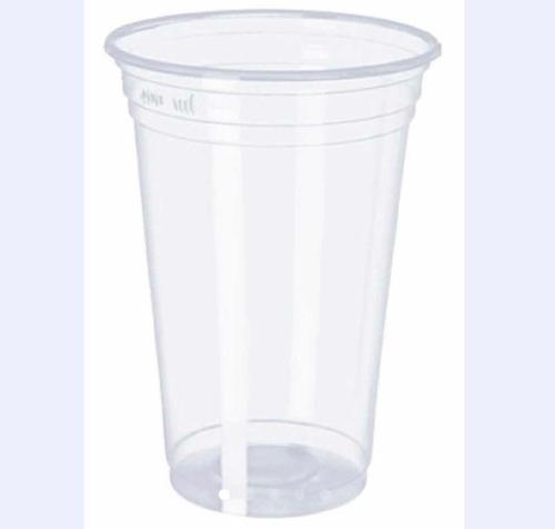Imagem 1 de 2 de 350 Copo Transparente Pp Descartável 500/550ml P/ Drink Chop