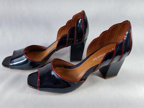 Sapato Feminino Lu Maranhão Original Pipitu Nº 35