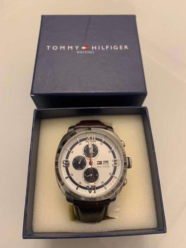 Relógio Tommy Hilfiger 1790968 Sport Luxury Couro ...