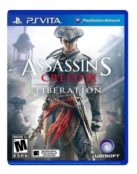 Assassins Creed Iii Ps Vita | Mídia Física