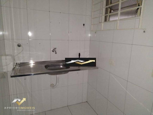Salão Para Alugar, 100 M² Por R$ 8.000/mês - Centro - Santo André/sp - Sl0212