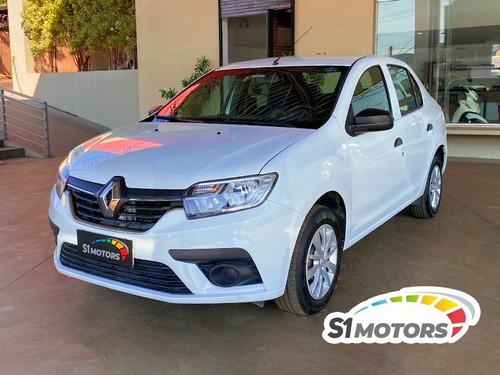 Imagem 1 de 14 de Renault Logan Life 1.0 Branco 2020