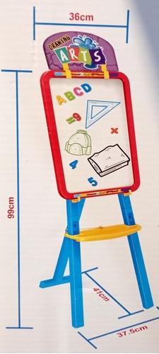Symiu Pizarra/Infantil Caballete Pintura para Ni/ños/3 EN 1 Pizarra/Magn/ética Ajustable Juegos con Tarjetas Magn/éticas y Bol/ígrafos Regalos para Ni/ños Ni/ñas 3 4 5 6 7 A/ños