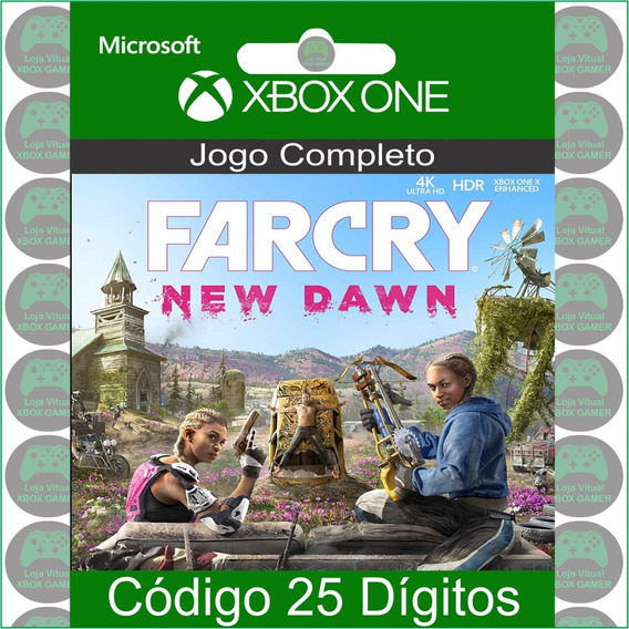 Far Cry New Dawn - Código 25 Dígitos Oficial Para Xbox One