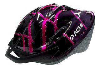 Capacete Adulto Para Ciclismo Rosa A51-rs Acte