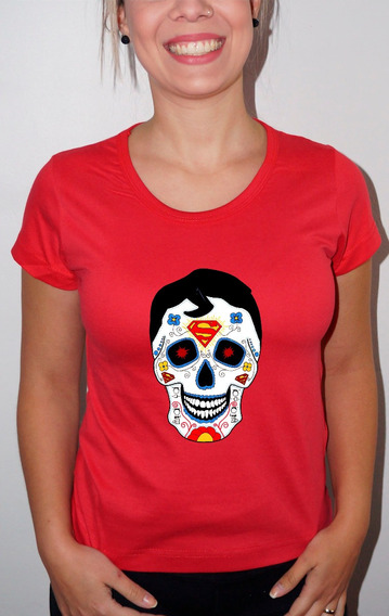 Baby Look Ou Camiseta Caveira 01