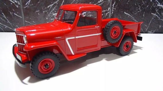 Miniatura Ford F-75 Willys Ano 1955 Pick-up 1:18