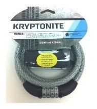 Cable Seguridad Kryptonite K510 Con Clave