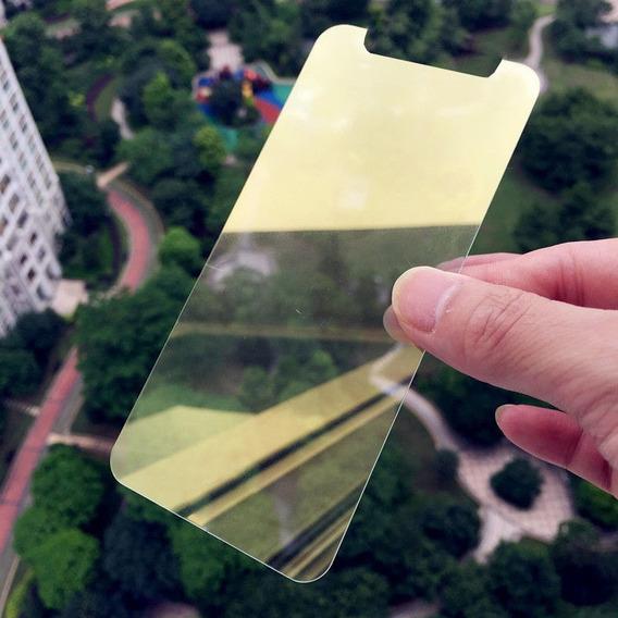 Protetor Tela Filme Vidro Temperado Para iPhone X, Gold