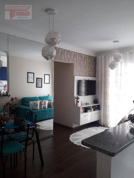 Apartamento Com 3 Dormitórios À Venda, 60 M² Por R$ 330.000,00 - Vila Pires - Santo André/sp - Ap2280