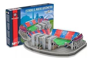 Estadio San Lorenzo Puzzle 3d Maqueta - Sharif Express