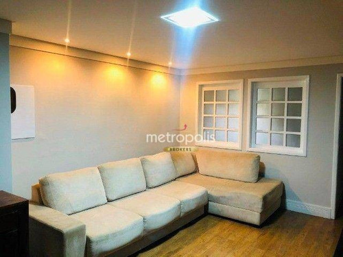 Imagem 1 de 18 de Sobrado Com 3 Dormitórios À Venda, 216 M² Por R$ 740.000,00 - Vila São Pedro - Santo André/sp - So1535
