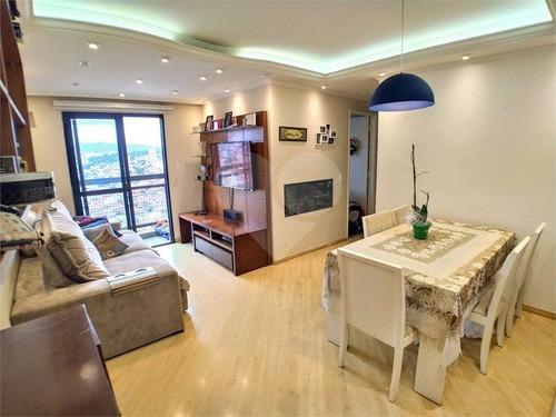 Apartamento Com 3 Dormitórios, 1 Wc, 1 Vaga E Lazer Com Piscina, Salão De Festas Quadra De Futebol - 170-im458880