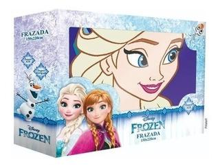 Frazada Frozen Niños 1 1/2 Plaza. Simil Piel!