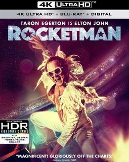 Rocketman 4k Ultra Hd + Blu-ray + Digital