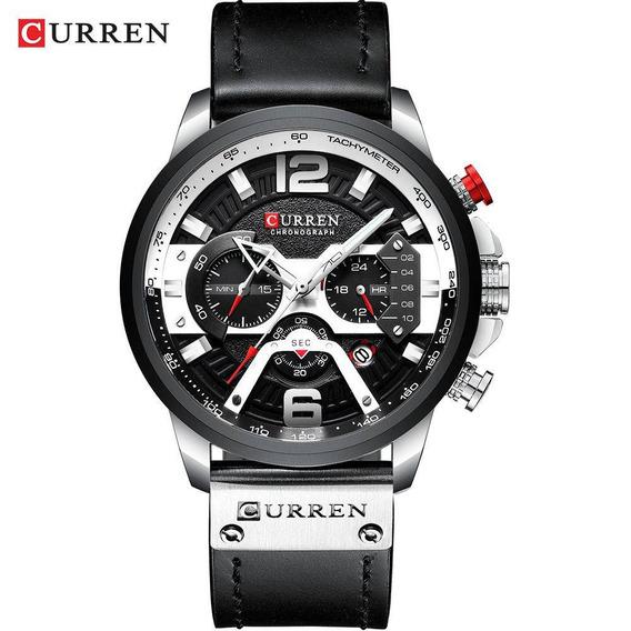 Relógio Masculino Curren Social Esportivo 8329 Lançamento