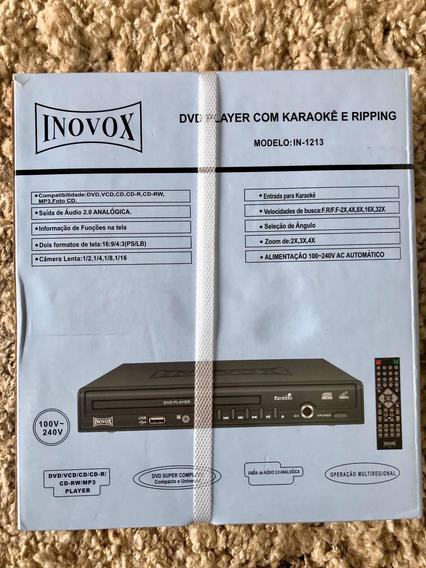 Dvd Inovox In-1213 Player Com Karaokê E Ripping