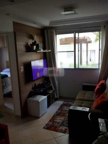 Apartamento Com 2 Dorms, Planalto, São Bernardo Do Campo - R$ 250 Mil, Cod: 1639 - V1639