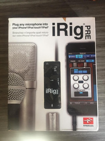 Irig Pre - Interface De Áudio Ik Multimedia Para Microfone