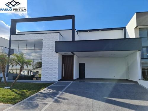 Casa Terrea Nova Com 3 Suítes E Piscina No Condomínio Maria José - Ca04309 - 68999384