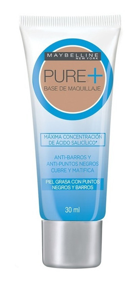 Base Maquillaje Pure Makeup Plus Rostro Maybelline